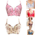 Ladies Super Boost Push Up Lace Side Support Plunge Underwired Bra B C D Cup GOD