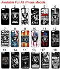 Oakland Raiders iPhone 6s iPhone 6 iPhone 7 7+ 8 8+ Case Silicone iPhone X 5 5s