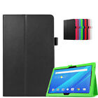 """Leather Stand Case Folio Cover For Lenovo Tab 4 10 TB-X304L X304F 10.1"""" Tablet"""