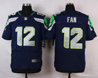 Fan 12 Jersey Seattle Seahawks 12th Man Blue Home Men's M L XL 2XL - USA