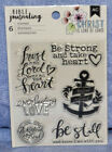 American Crafts Bible Journaling Stamps: you choose  / Combined shipping: NEW!