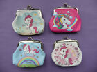 UNICORN Girls Childrens Coin Hasp Purse 4 designs party bag filler Cute NEW