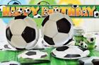 Football World Cup Party Tableware Cups Plates Birthday Party Hats Banners