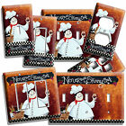 DRUNK FAT  FRENCH CHEF LIGHT SWITCH OUTLET PLATES KITCHEN DI