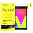 PASBUY 2 Pack Tempered Glass Screen Protector for LG G6 G5 G4 X5 V20 All Phones