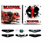 New Skin Decals for PlayStation 4 PS4 Slim Console & Controller with Light Bars