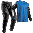 New THOR MX 2018 SECTOR ZONES BLUE Adult Motocross Jersey & Pants Outfit Moto