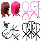 Wig Display Stand Mannequin Dummy Head Hair Holder Fold-able