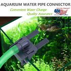 Acrylic Aquarium Tank Water Pipe Clamp Hose Tube Rod Fixing Clip Mount Holder