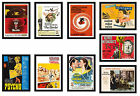 Framed Alfred Hitchcock Movie Film Posters A4 Size In Black Frame 25+ Choice