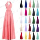 New Chiffon Formal Evening Bridesmaid Dresses Party Ball Prom Gown Dress 6-26