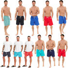 M&S MENS MESH LINED QUICK DRY SHORTS SWIMMING GYM RUNNING SUMMER BEACH TRUNKS