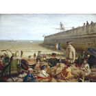 A Day by the Seaside, 1858 - F Ifold Print