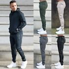 New Mens BBH Polyester Tracksuit Bottoms Slim Fit Joggers Gym Sweatpants