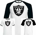 Oakland Raiders - Mens American Football T-Shirt NFL Jersey USA Super Bowl