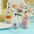 Personalized Champagne Bottle - Wedding Party  Favor - 75-150 Qty