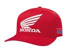 Fox Racing Honda HRC Factory Flexfit Hat - Red - Small /Med OR Large /X-Large