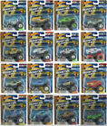 Hot Wheels Monster Jam 1:64 Truck with Re-Crushable Car 2018 Assortment Choose