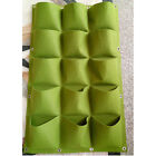 18 Pocket Vertical Greening Hanging Wall Garden Planting Bags Wall Planter Green