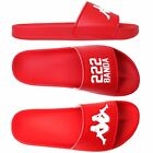 KAPPA AUTHENTIC ADAM 3 RED ROSSO SANDALO PANTOFOLA CIABATTA SHOES CHAUSSURES