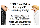 personalised paper card party invites invitations DESPICABLE ME 3 MINIONS #4