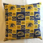 "NEW 15"" NCAA COLLEGE TEAMS COMPLETE THROW PILLOWS GREAT GIFTS! You choose team"