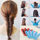 Sponge Hair Plait Braider Quick French Twist Styling Braiding Tool Blue/Red DJ8