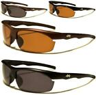 POLARIZED X-LOOP SUNGLASSES MENS LADIES RIMLESS SPORT WRAP DRIVING RUNNING GOLF