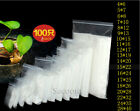 Ziplock Zip Zipped Lock Reclosable Plastic Poly Clear Bags Thickness 0.12mm