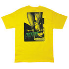 CREATURE NOTHING MEN'S T-SHIRT YELLOW