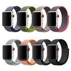 sand sand sand - Woven Nylon Sport Loop iWatch Band Strap Bracelet For Apple Watch Series 1 2 3