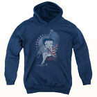 BETTY BOOP PROUD BETTY Youth Hoodie Pull-Over $33.99 USD on eBay