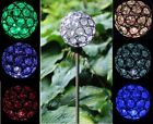 Solar Powered Garden Decor Stake Pathway Lawn Yard Outdoor Landscape LED Light