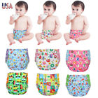 Reusable Cloth Diapers Inserts Newborn Baby One Size Diaper Covers Adjustable