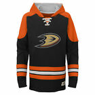 NHL Anaheim Ducks Team Logo Hoodie Youth Kids Fanatics $37.77 USD on eBay