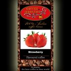 Strawberry Character Coffee Beans Arabica Organic Flavoured Ground/ Whole Free P&P