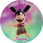 "IGAM OGAM ROUND 7.5"" CAKE TOPPER ICING OR RICEPAPER"