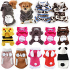 Pet Dog Cat Clothes Warm Jacket Coat New Hoodie Sweater Jumper Costume Apparel