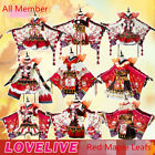 Halloween Cos Love Live Sunshine Aqours Red Maple Leafs Cosplay Costume Dresses