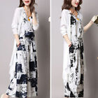 long dress with coat - Women's Summer Boho Long Maxi Evening Cocktail Beach Dress Sundress With Coat