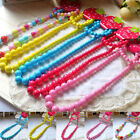 Toddler Baby Girl Colorful Beads Chain Necklace Princess Jewelry Birthday Worthy