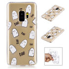 Patterned Soft Rubber TPU Back Skin Case Cover For Samsung Galaxy S9/S9 Plus/S9+