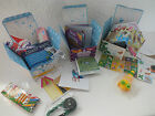 10 PARTY BAG/ACTIVITY BOXES - COASTLINE, BRITISH SEASONS, CASTLES & CROWNS