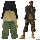 Men's Extra Long  Rothco 6-Pocket Military Style 3/4 Pant