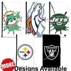 American Football Sports Team PU Leather Wallet Case for Samsung Galaxy Phone $17.99 USD on eBay