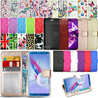 For Huawei P Smart / Enjoy 7S FIG-LX1 - Wallet Leather Case Cover + Screen Guard