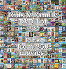 Kids & Family DVD Lot #3: DISC ONLY - Pick Items to Bundle and Save!