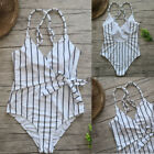 Womens One-piece Swimsuit Swimwear Push Up Monokini Bathing