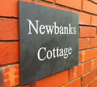 PERSONALISED SLATE HOUSE PLAQUE