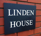 PERSONALISED ENGRAVED SLATE HOUSE SIGN